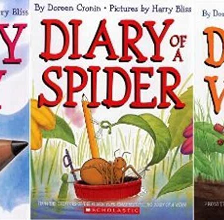 Bundle (Diary of a Worm, Diary of a Spider, Diary of a Fly)