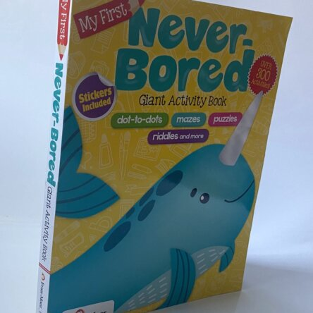 Never Bored Activity Book Evan Moor