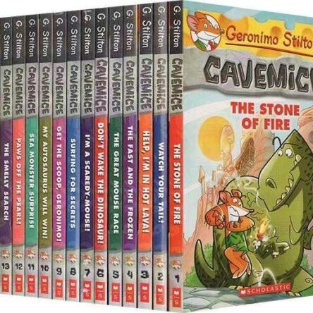 Geronimo Stilton Cavemice Collection
