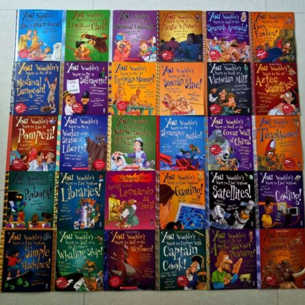 You wouldn't want to….30 Book set