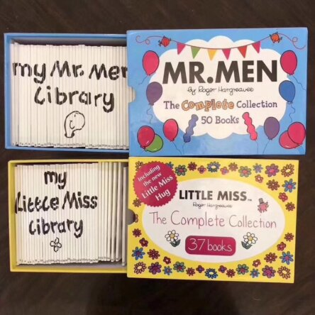Little Miss and Mr. Men Book Sets